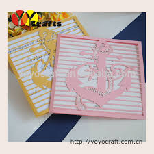Pakistani Wedding Cards Design Gold Anchor Lace Wedding Invitation Design Lace Pearl Wedding