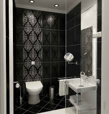 brown accents wall marble tiles ideas for warm bathroom themed