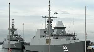 Singapore Navy Flag Singaporean Navy U0027s Vessel Arrives At Visakhapatnam