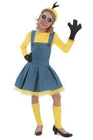 minion costume girl s minion costume tv character shop costumes