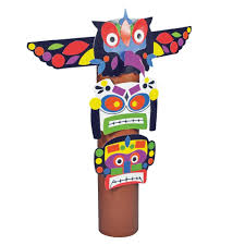 totem pole craft kit cleverpatch