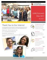uhr connect may 2017 by university human resources issuu