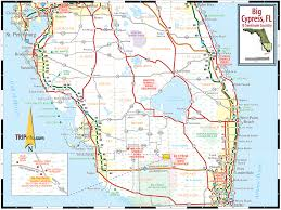 Flordia Map Big Cypress U0026 Florida Seminole Country Map