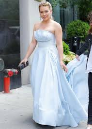 hilary duff wedding dress hilary duff in a cinderella dress at the younger set in new york