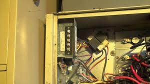 furnace fan wont shut off electric furnace fan off delay timer youtube
