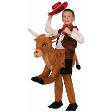 cowgirl costume for halloween ride a bull child costume buycostumes com
