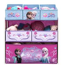 amazon com delta children multi bin toy organizer disney frozen