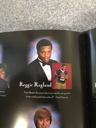 my high school yearbook found a picture of reggie ragland in my high school yearbook from