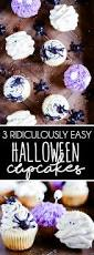 three cute u0026 easy halloween cupcakes