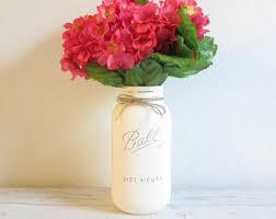 handmade mason jar centerpieces etsy