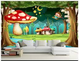 wallpaper 3d mushroom custom 3d wallpaper 3d wall murals wallpaper cartoon murals dream