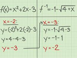 Factoring Trinomials Of The Form Ax2 Bx C Worksheet Answers 3 Ways To Find The Inverse Of A Quadratic Function Wikihow