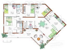 plan maison 4 chambres plain pied gratuit plan de maison 4 chambres plain pied gratuit plan de maison