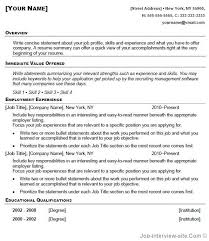 copy and paste resume template jmckell