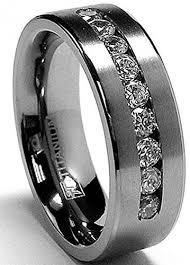black titanium wedding band mens titanium wedding bands havesometea net