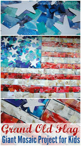 Grand Old Flag Grand Old Flag Giant Mosaic Mosaic Art Projects Paper Mosaic
