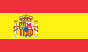 Flags In Spanish 5in X 3in Spain Country Españia Spanish Flag Bumper Sticker Decal