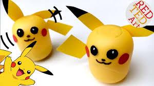 easy pikachu diy pikachu ornament or weeble