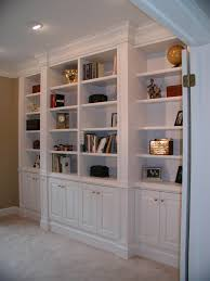 Antique White Bookcases by White Bookshelves With Cabinets Best Home Furniture Decoration