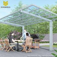barbecue awning polycarbonate grill canopy sunshield patio cover