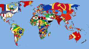 Hong Kong Flag Map Communist World Flag Map Vexillology