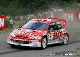 peugeot 206 rally bruno thiry jean marc fortin peugeot 206 wrc