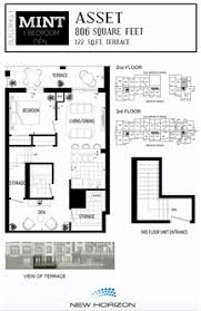 mint floor plans mint condos new horizon development new condos for sale