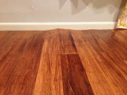 How To Install Bamboo Flooring Inspirations Carbonized Strand Bamboo Flooring Honey Bamboo