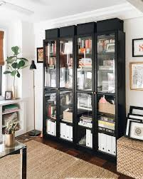 Ikea Billy Bookcase With Doors 59 Billy Bookcase Width Bookcases Modern Traditional Ikea