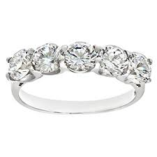 half eternity ring silver cz set half eternity ring co uk jewellery