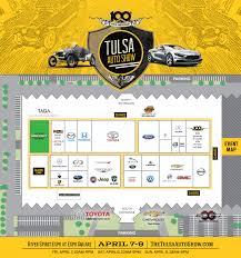 Map Of Tulsa The Tulsa Auto Show U2013 Events And Show Hours