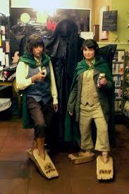 Hobbit Halloween Costume Geekanerd Cardboard Hobbit Feet Ftw