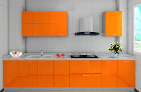 orange kitchen ideas popular orange kitchen cabinet with backsplash smith design