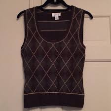 black sweater vest argyle sweater vest from s closet on poshmark