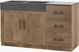 meubles cuisine bois porte meuble cuisine bois brut impressionnant et le bois b