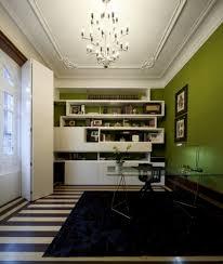 Modern Glass Desks For Home Office by Cool Home Office White Shelves Glass Desk Furniture Penaime