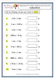 conversion worksheets grade 3 maths worksheets 11 3 measurement of length addition