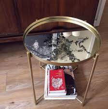 Tray Table Ikea 19 Cheerful Ikea Hacks That You U0027ll Want To Recreate Brass Color