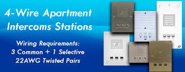 apartment intercom stations aluminum plastic stainless steel brass