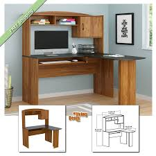 Oak Corner Computer Desk With Hutch by Home Office Computer Desk With Hutch 2301 Ebay Home Office Desk