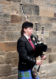 scottish bagpipe player pics4learning