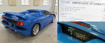 lamborghini diablo ebay donald s lamborghini diablo sells for 460 000 on ebay