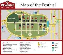 Munich Germany Map by Oktoberfest Tent Reservations Munich Beer Tent Information