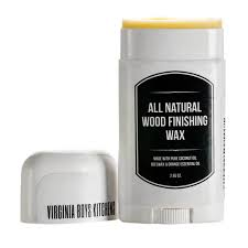 2 65 oz all natural coconut oil and beeswax wood finishing wax