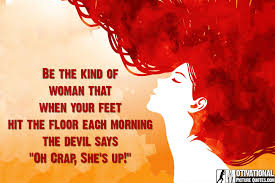 Hit The Floor Quotes - women empowerment quotes with images insbright