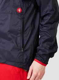 cycling windbreaker jacket relwen cycling shell wind runner midnight in blue for men lyst