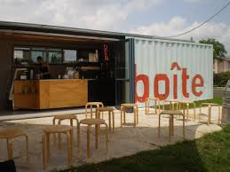 unique concept shipping container coffee houses design