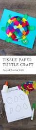 tissue paper and paper plate turtle turtle crafts printable