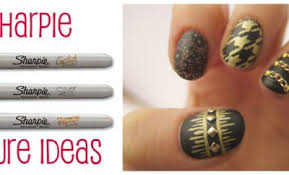 10 sharpie nail ideas