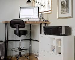 Standing Corner Desk 17 Diy Corner Desk Ideas To Build For Your Office Simplified